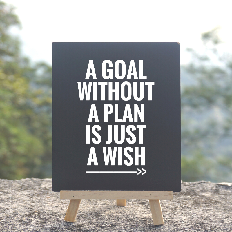 5 Small Steps to Setting Goals and Staying Focused