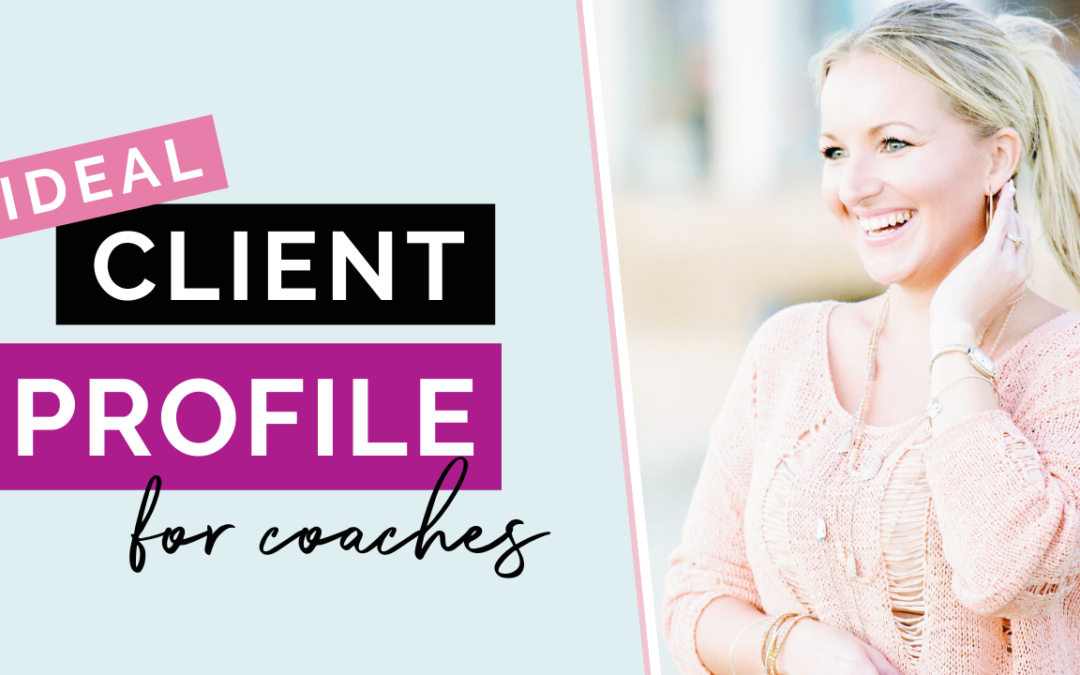 Creating Your Ideal Coaching Client Avatar