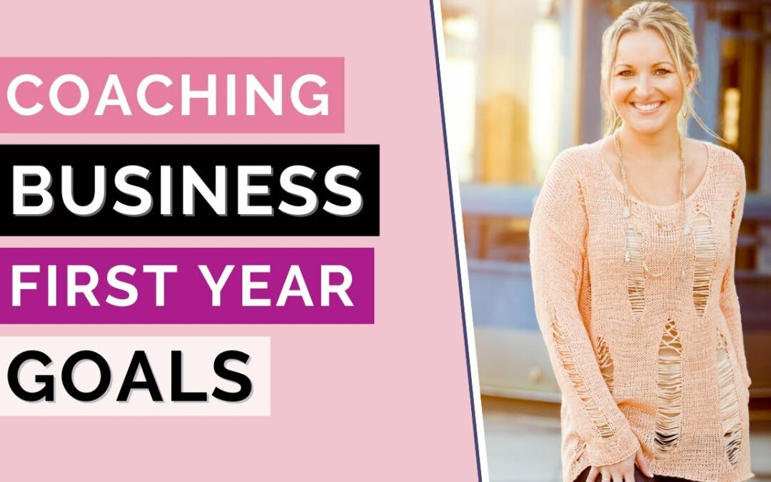 How to Set Goals Your First Year in Business